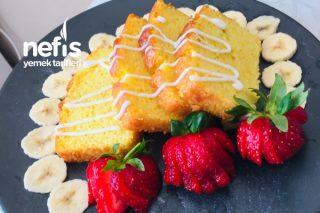 Limon Aromalı Beyaz Çikolatalı Kek Tarifi