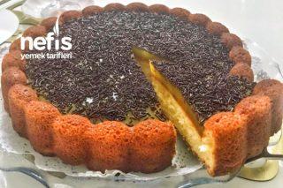 Portakallı Tart Kek (Eti Cin) Tarifi