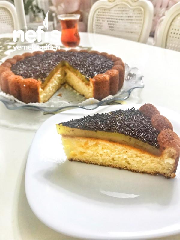 Portakallı Tart Kek (Eti Cin)
