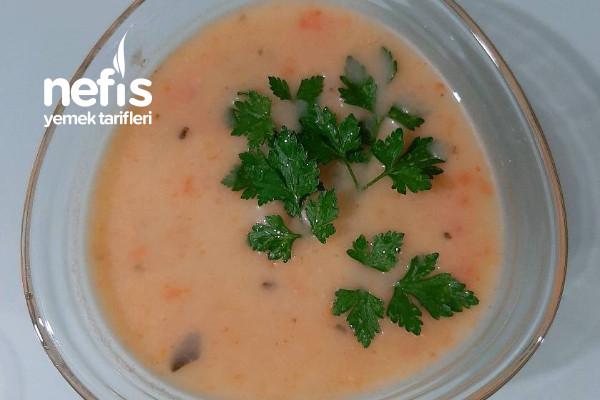 Sütlü Sebze Çorbası (Çocuklarınız Bile Bayılacak)