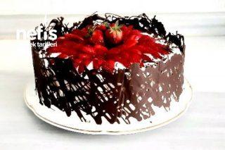 Doğum Günü Pastası (Çilek Bahçesi Yaş Pasta) Tarifi