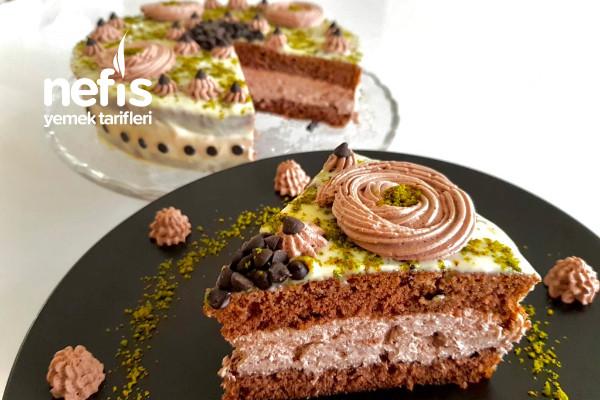 Fevkalade Kahveli Çikolatalı Pasta (15 Dakikada) Tarifi