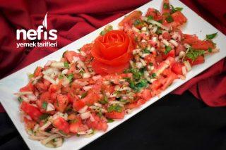 Lokanta Salatası (Bol Ekşili) Tarifi
