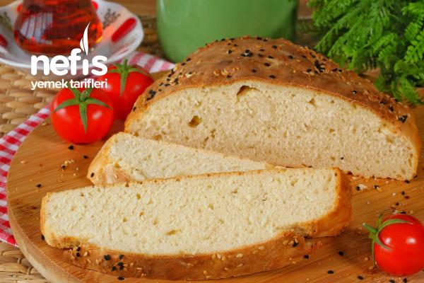 Mayasız Kolay Ekmek Yapımı (videolu) Tarifi
