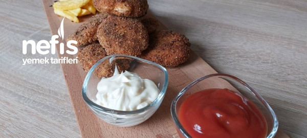 Nugget /ev Yapımı Nugget Tarifi/tavuk Nugget Nasıl Yapılır? ( videolu )
