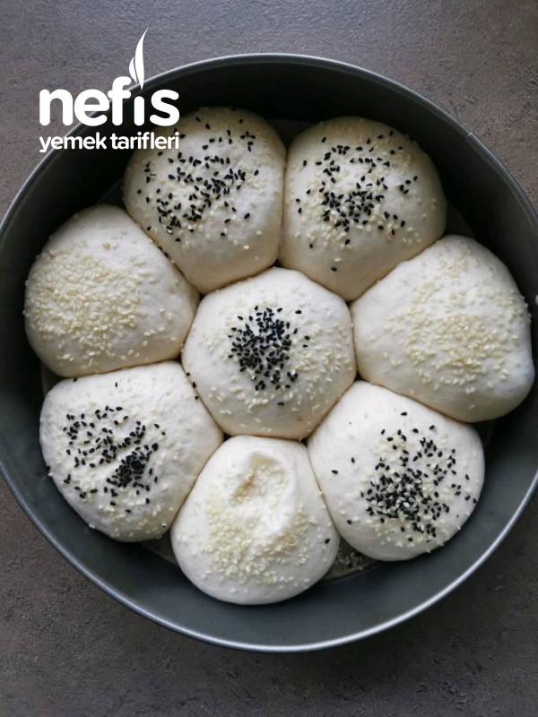 Çiçek Ekmek (Bir Gece Öncesi Hazırla Sabah Pişir)