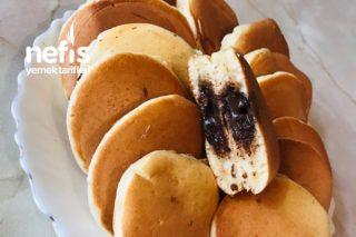 Çikolata Dolgulu Pankek Tarifi
