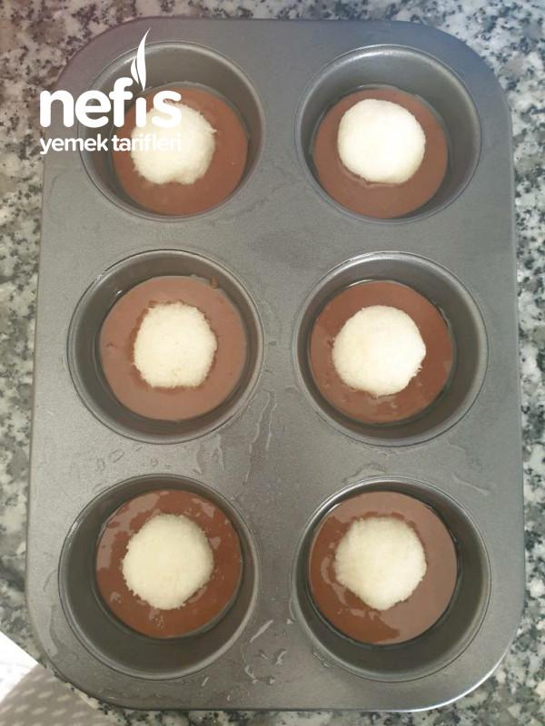 İçi Dolgulu Muffin 6 Adet