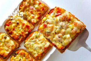 Kahvaltılık Dilim Pizza Tarifi