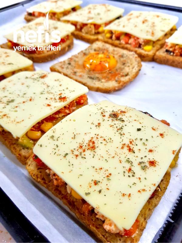 Kahvaltılık Dilim Pizza