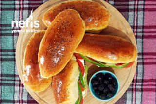 Pastane Usulü Yumuşacık Sandviç Ekmeği Tarifi (Evdekal Serisinden) (Videolu)