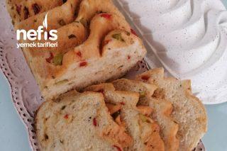 Zeytinli Biberli Ev Ekmeği Tarifi
