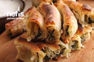 El Açması Ispanaklı Börek(Çok Kolay Ve Çok Çıtır) Tarifi
