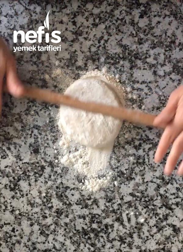 El Açması Ispanaklı Börek(çok Kolay Ve Çok Çıtır)