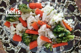 Haşlanmış Karnabahar, Brokoli ve Havuç Tarifi