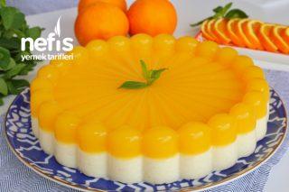 Lezzetli ve Hafif – Portakallı İrmik Tatlısı Tarifi (videolu)
