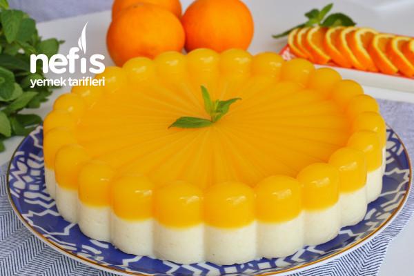 Portakallı İrmik Tatlısı (videolu) Tarifi