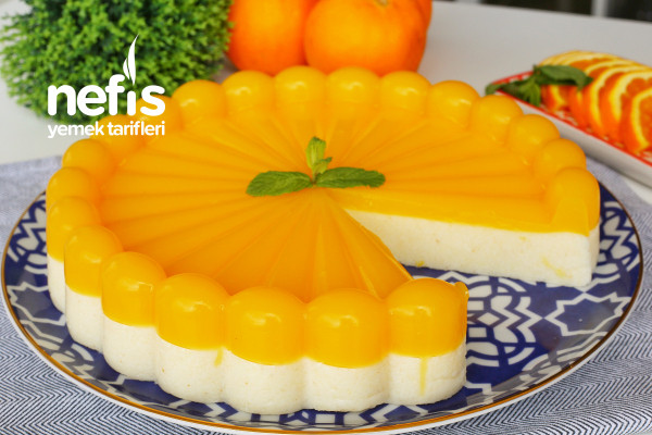 Portakallı İrmik Tatlısı