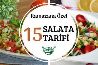 Ramazana Özel 15 Nefis Salata Tarifi