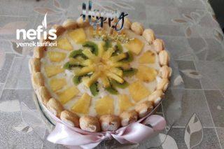 Ananaslı Kivili Pasta Tarifi