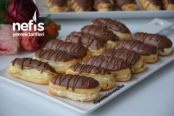 Denenme Rekorları Kıran Pastane Usulü Ekler (Videolu) Tarifi