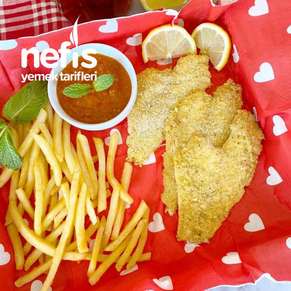 Fırında Fish&chips (Balık Ve Patates)