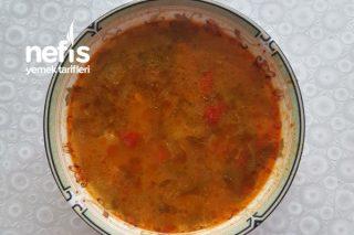 Helle (Sebzeli) Kara lahana Çorbası Tarifi
