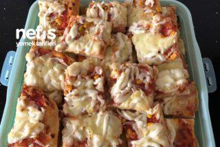 Karidesli Pizza Tarifi