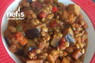 Mualla Yemeği (Mercimekli Patlıcan) Tarifi