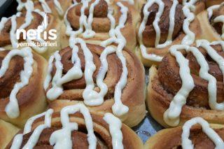 Tarçınlı Çörek (Puding Hamurundan) Tarifi