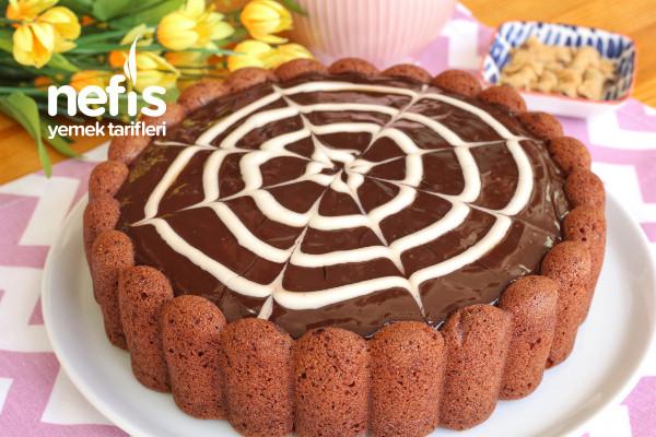 Çikolata Soslu Çaylı Kek (videolu)