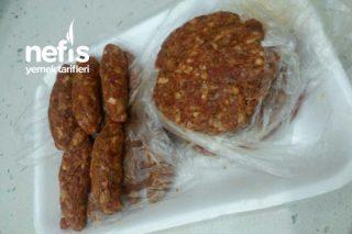 Dondurucuya Hamburger Ve Köfte Hazırlığı Tarifi