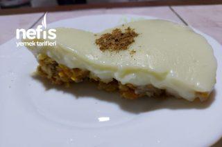 Elmalı Havuçlu Muhallebili Pasta Tarifi