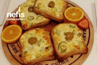 Kahvaltılık Kızarmış Ekmek (Fırından) Tarifi