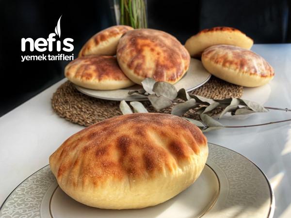 Meşhur Pita Ekmeği (Balon Gibi Kabaran)