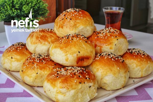 Pastane Usulü Mahlepli Poğaça (videolu)