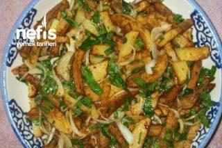 Patates Kızartması Salatası Tarifi