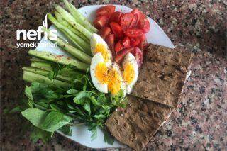 Pita Lavaş ile Diyet Kahvaltı Tarifi