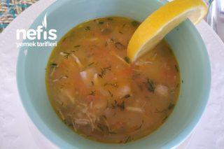 Sebzeli Tavuk Çorbası Tarifi