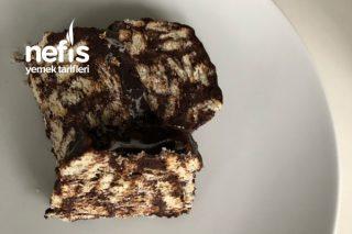 3 Malzemeli Mozaik Pasta Tarifi