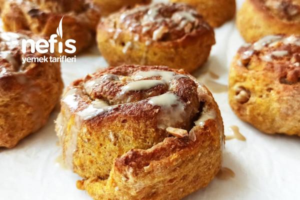 Balkabaklı Tahinli Nokul (Çörek,Lokul) Tarifi
