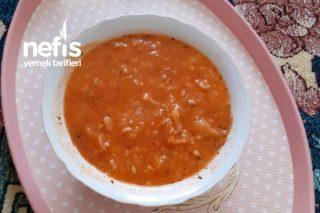 Beyaz Lahana Çorbası (Sarılmayan Sert Yerinden) Tarifi