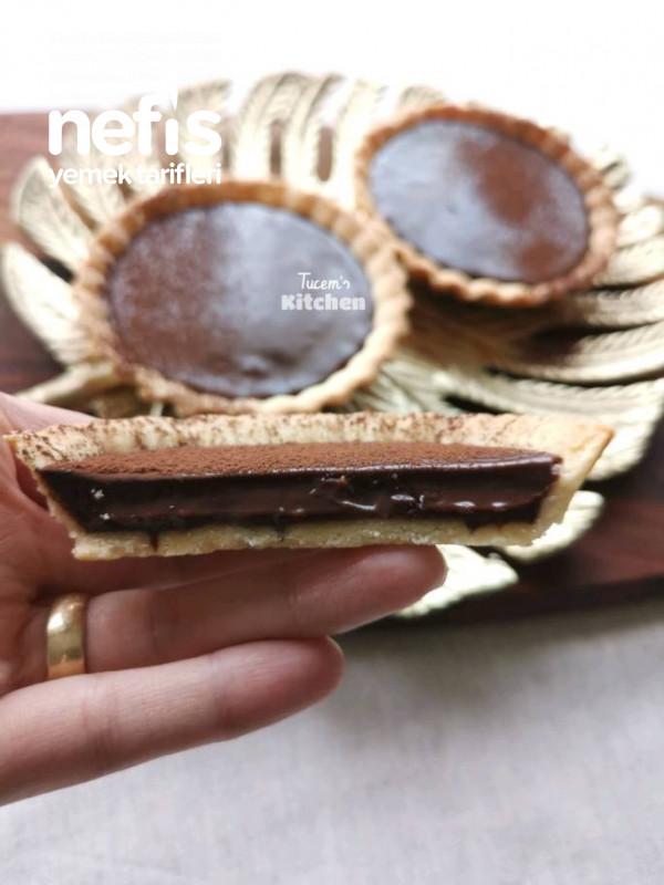 Çikolatalı Tart (muhteşem lezzet)