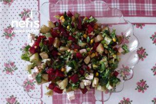 Kırmızı Pancarlı Salata Tarifi