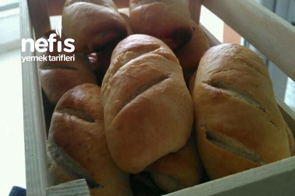 Milchbrötchen (Sütlü Pamuk Ekmek) Tarifi