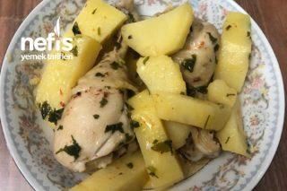 Patatesli Tavuk (Enfes Lezzet) Tarifi