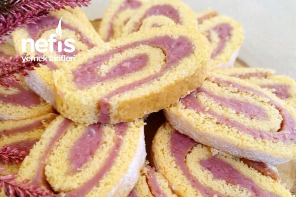 Frambuaz Kremalı Pamuk Pasta Tarifi
