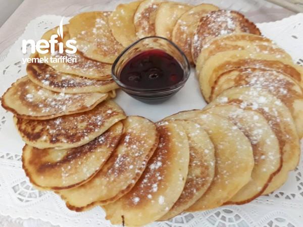 Kahvaltıya Pankek 5 Çayına Pankek