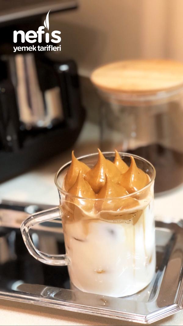 Köpük Kahve (Dalgona)
