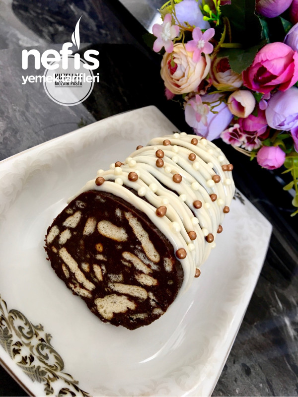 Nutellalı Mozaik Pasta